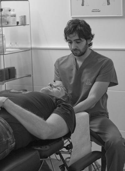 Terapia manual osteopatía