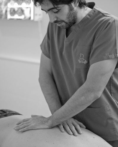 Terapia manual osteopatía